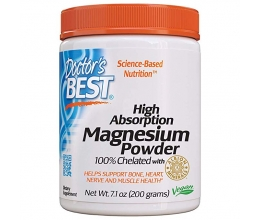 DR´S BEST Magnesium High Absorption 100% Chelated 200g (kelaaditud magneesium)