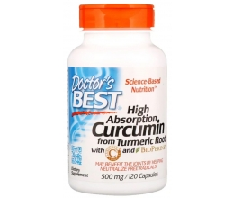 DR´S BEST Curcumin C3 Complex 500mg - 120Caps