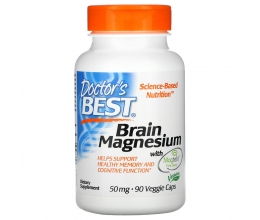 DR´S BEST Brain Magnesium with Magtein - 90 vcaps