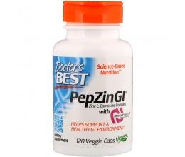 DR´S BEST PepZin GI (Zinc-L-Carnosine) - 120 vcaps