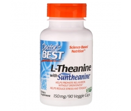 DR´S BEST L-Theanine with Suntheanine 150mg - 90 vcaps (L-Teaniin)