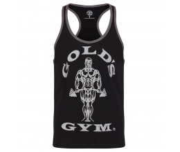 GOLDS GYM Stringer Joe Contrast (Black Grey)