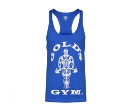 GOLDS GYM Stringer Vest Joe Premium (Royal) GGVST003