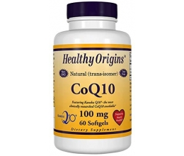 HEALTHY ORIGINS CoQ10, 100mg 60Softgels