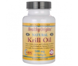 HEALTHY ORIGINS Krill Oil 500mg 60Softgels