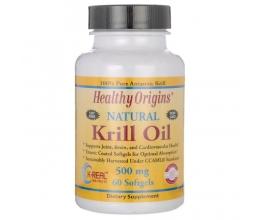 HEALTHY ORIGINS Krill Oil 500mg 60Softgels