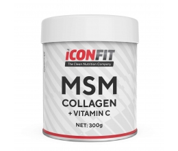 ICONFIT MSM Collagen+Vitamin C 300g