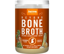 JARROW FORMULAS Beyond Bone Broth - 306g CHICKEN flavor (kondileem)
