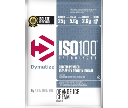 DYMATIZE ISO100 31g Orange Ice Cream SAMPLE