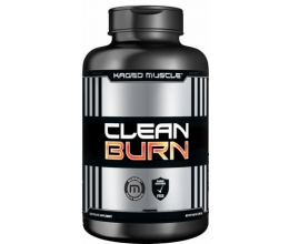 KAGED MUSCLE Clean Burn 180caps BB 01/2019