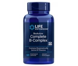 LIFE EXTENSION Bio-Active Complete B-Complex - 60 vcaps