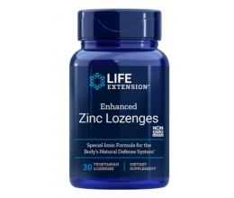LIFE EXTENSION Enhanced Zinc Lozenges 30 veg. lozenges