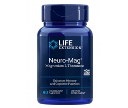 LIFE EXTENSION Neuro-Mag(Magtein) Magnesium L-Threonate 90veg caps