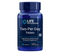 LIFE EXTENSION Two-Per-Day - 60 tablets