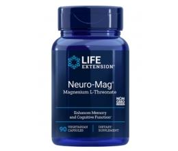 LIFE EXTENSION Neuro-Mag(Magtein) Magnesium L-Threonate 90veg caps