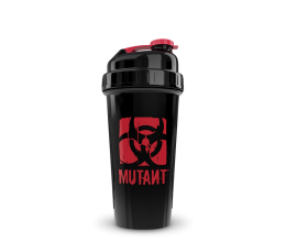 MUTANT Shaker (Black / Red)  800ml