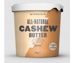 MYPROTEIN Natural Cashew Butter 1kg CRUNCHY
