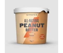 MYPROTEIN All-Natural Peanut Butter 1kg - nr1