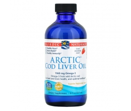 NORDIC NATURALS Arctic Cod Liver Oil 1060mg - 237 ml Strawberry
