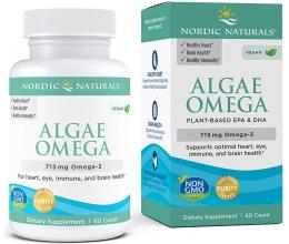 NORDIC NATURALS Algae Omega 715mg Omega3 - 60softgels