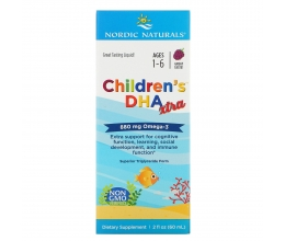 NORDIC NATURALS Children´s DHA Xtra 880mg - 60ml Berry Punch