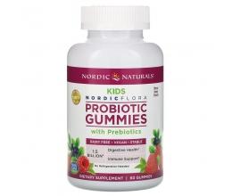 NORDIC NATURALS Probiotic Gummies Kids 60gummies Merry Berry Punch