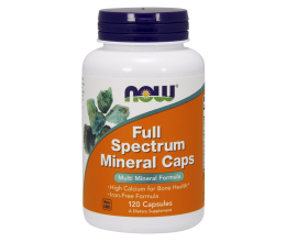 NOW FOODS Full Spectrum Minerals, Iron-Free - 120 caps