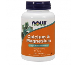 NOW FOODS Calcium Magnesium 100tab
