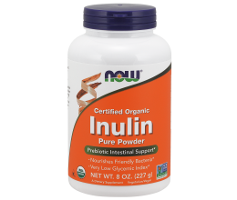 NOW FOODS Inulin Powder - 227 grams (inuliin)