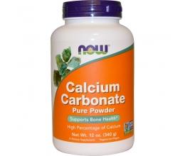 NOW FOODS Calcium Carbonate - 340 grams