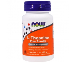 NOW FOODS L-Theanine Powder - 28g