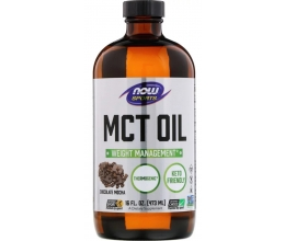 NOW FOODS MCT Oil Pure Liquid - 473 ml.
