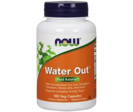 NOW FOODS Water Out 100 kaps.