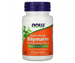 NOW FOODS Silymarin with Artichoke & Dandelion 300mg - 50 vcaps