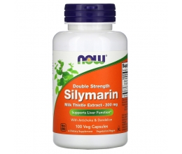 NOW FOODS Silymarin with Artichoke & Dandelion 300mg - 100 vcaps