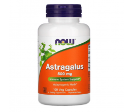 NOW FOODS Astragalus 500mg - 100 caps
