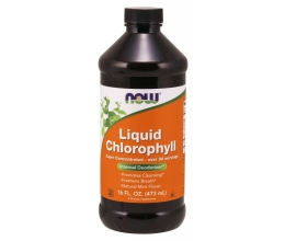 NOW FOODS Chlorophyll Liquid - 473 ml (Klorofüll)