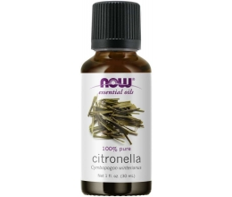 NOW FOODS Essential Oil 30ml Citronella Oil (eeterlik õli)