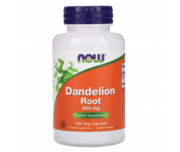 NOW FOODS Dandelion Root 500mg - 100 vcaps