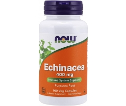 NOW FOODS Echinacea 400mg - 100vcaps