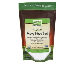 NOW FOODS Erythritol 100% Pure - 454g