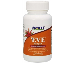 NOW FOODS EVE Superior Women´s Multi - 90 softgels (with iron)