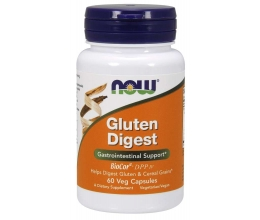 NOW FOODS Gluten Digest - 60 vcaps