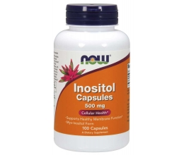 NOW FOODS Inositol 500mg - 100 caps (inositool)