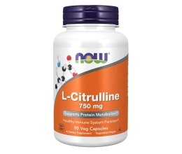 NOW FOODS L-Citrulline 750mg - 90 vcaps