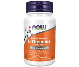 NOW FOODS L-Theanine 200mg with Inositol 60veg Caps
