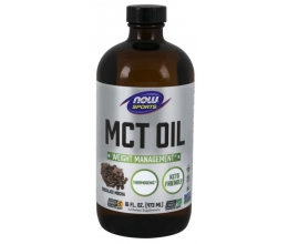 NOW FOODS MCT Oil Pure Liquid - 473 ml. Chocolate Mocha