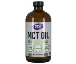 NOW FOODS MCT Oil Pure Liquid - 473 ml.