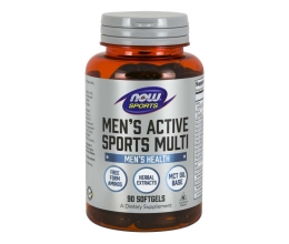 NOW FOODS Men's Active Sports Multi 90 softgels