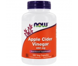 NOW FOODS Apple Cider Vinegar 450mg - 180vcaps